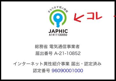JAPHIC(ジャフィック)のマーク